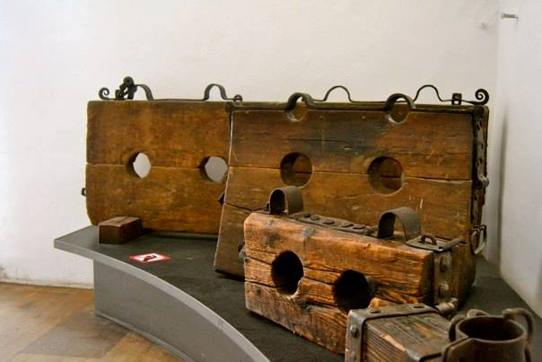 torture implements at the War Museum