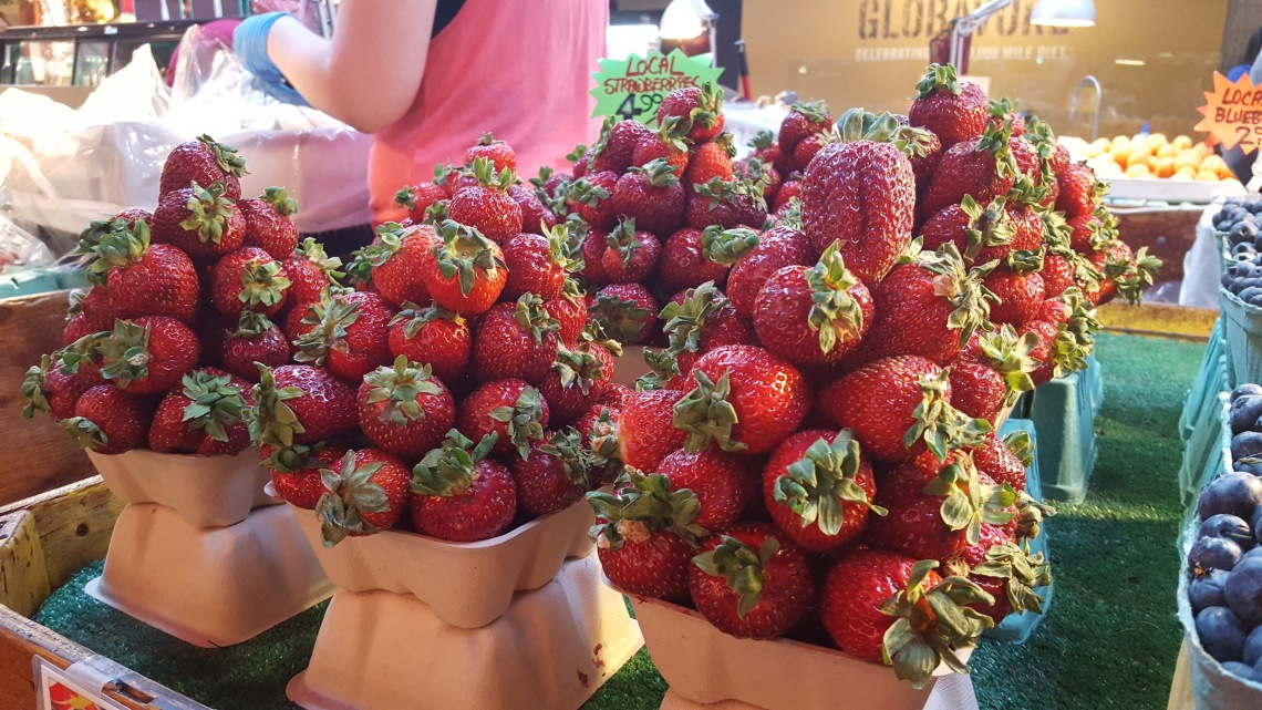 Huge Strawberries